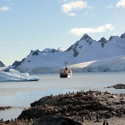 「クーパービル島からの景色」の写真素材