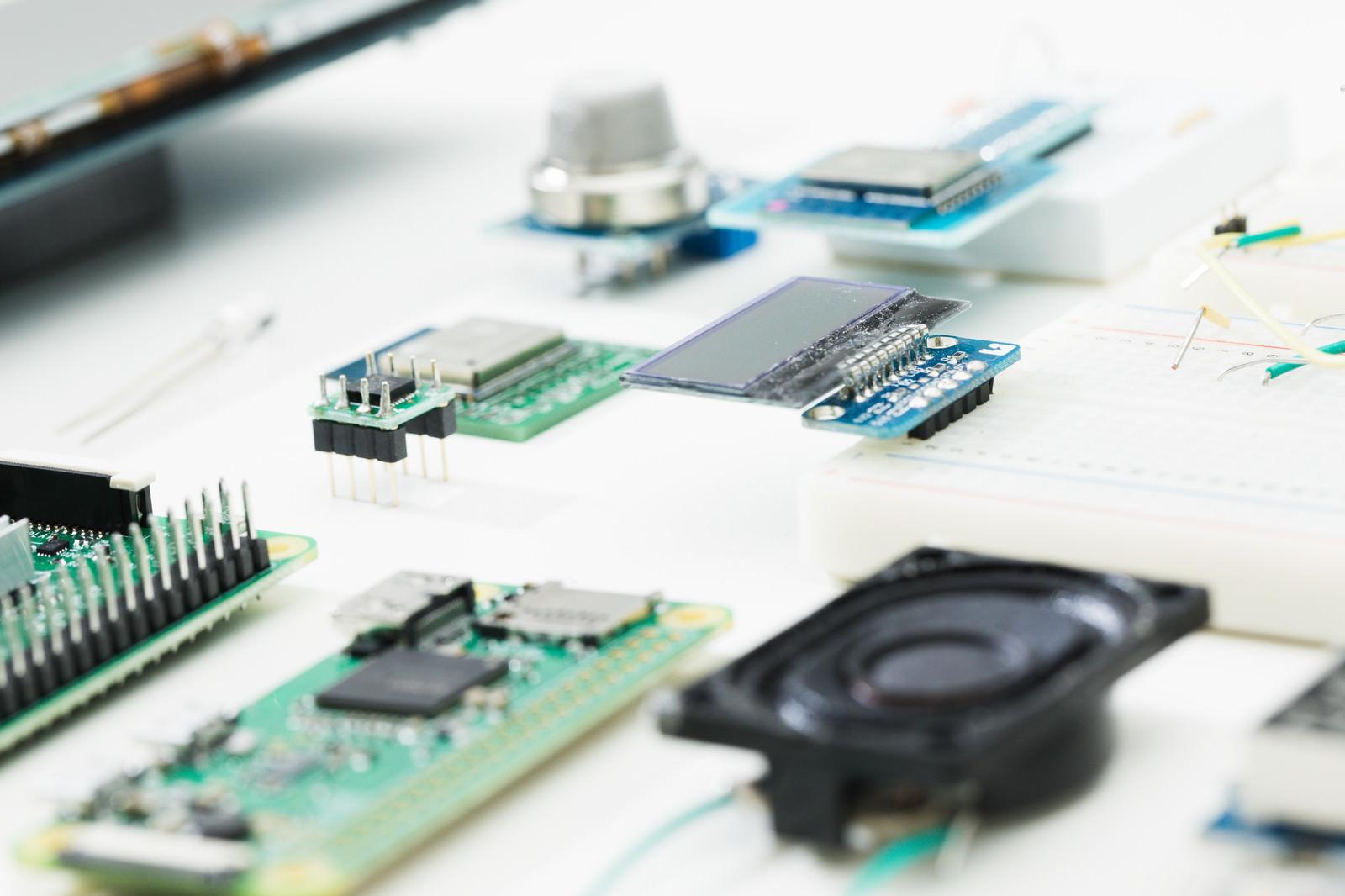 「小さな電子部品」の写真