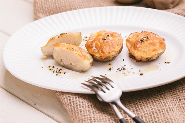 女性でも食べやすい。見た目がかわいいじゃがいもグラタンのレシピの写真