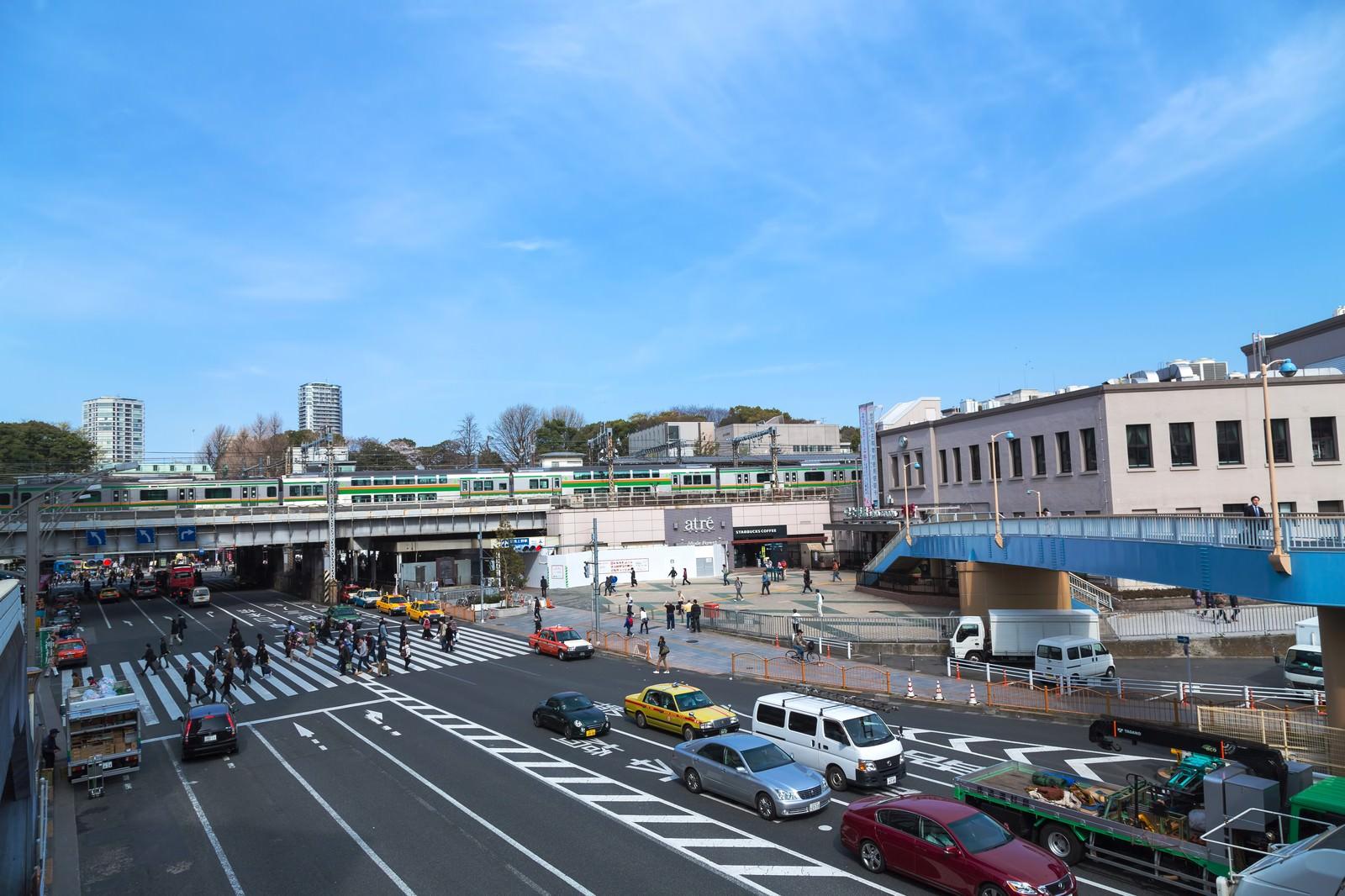 「JR上野駅」の写真