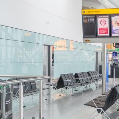 「ヒースロー航空の待合所」の写真素材