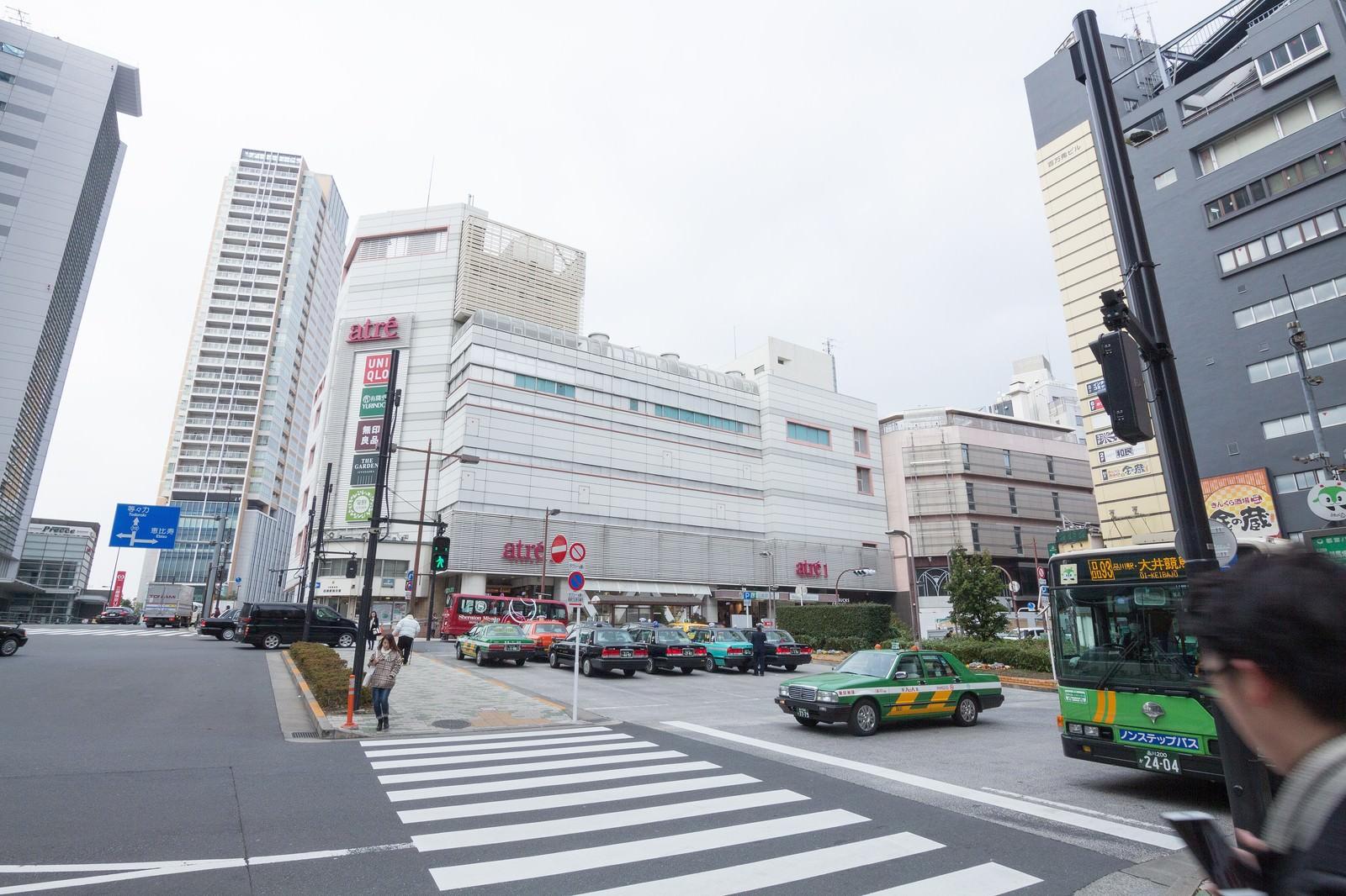 「目黒駅前(西口)」の写真