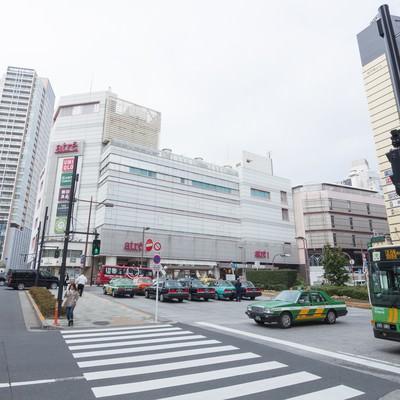 「目黒駅前(西口)」の写真素材