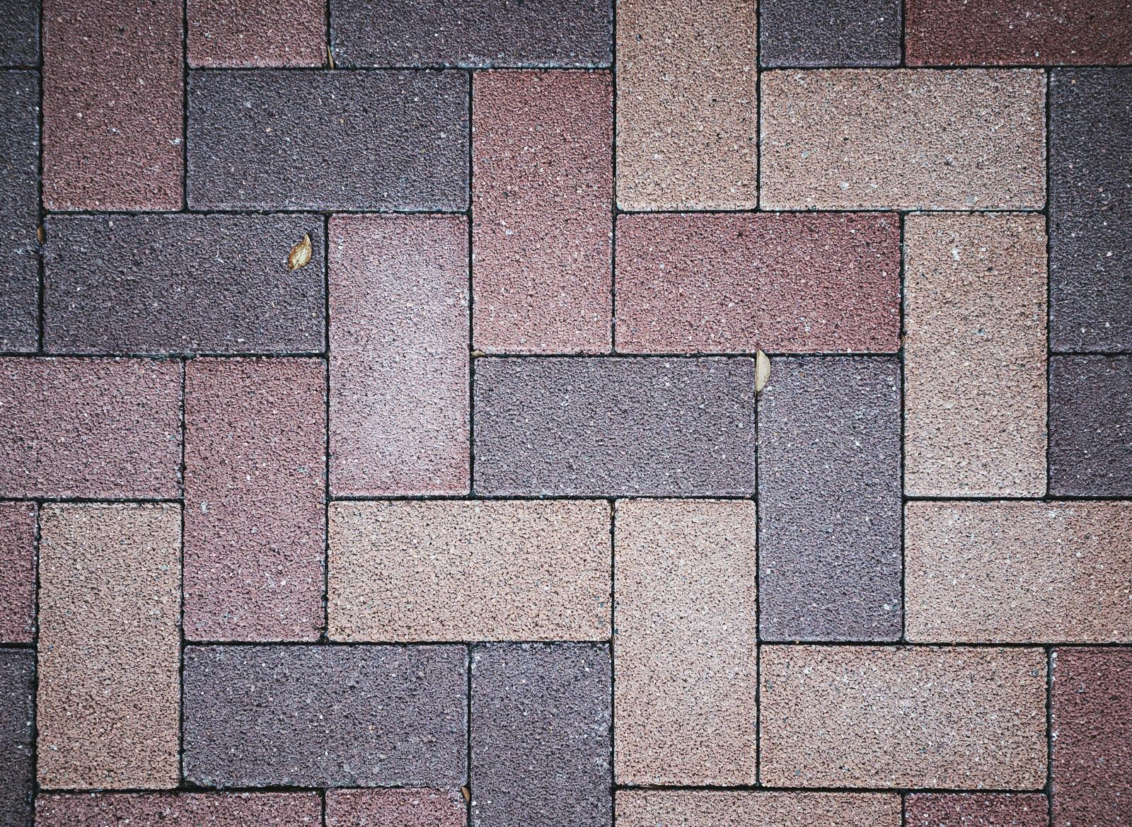 「交互に組み合わせたタイル(テクスチャ)」の写真