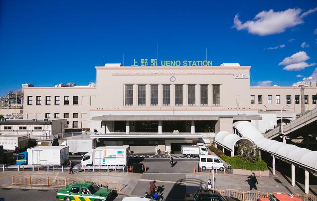 上野駅(UENO STATION)の写真