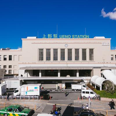 「上野駅(UENO STATION)」の写真素材