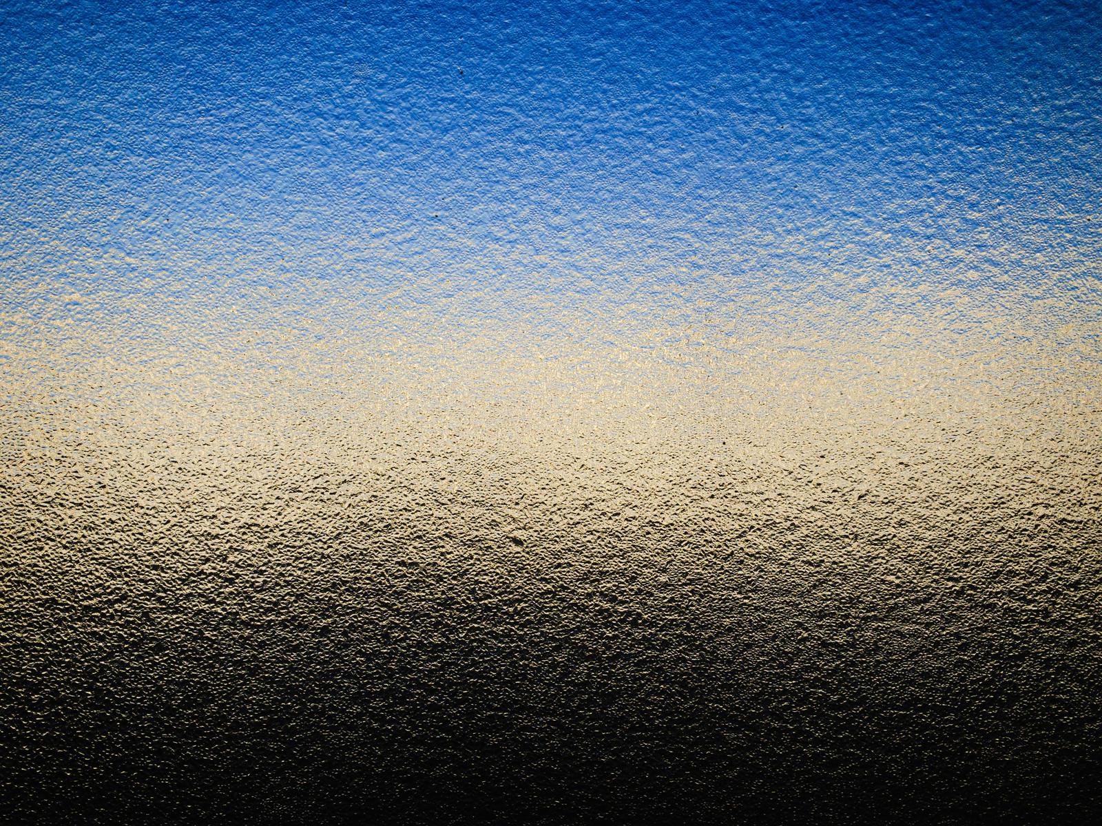 「すりガラス越しの青空(テクスチャ)」の写真