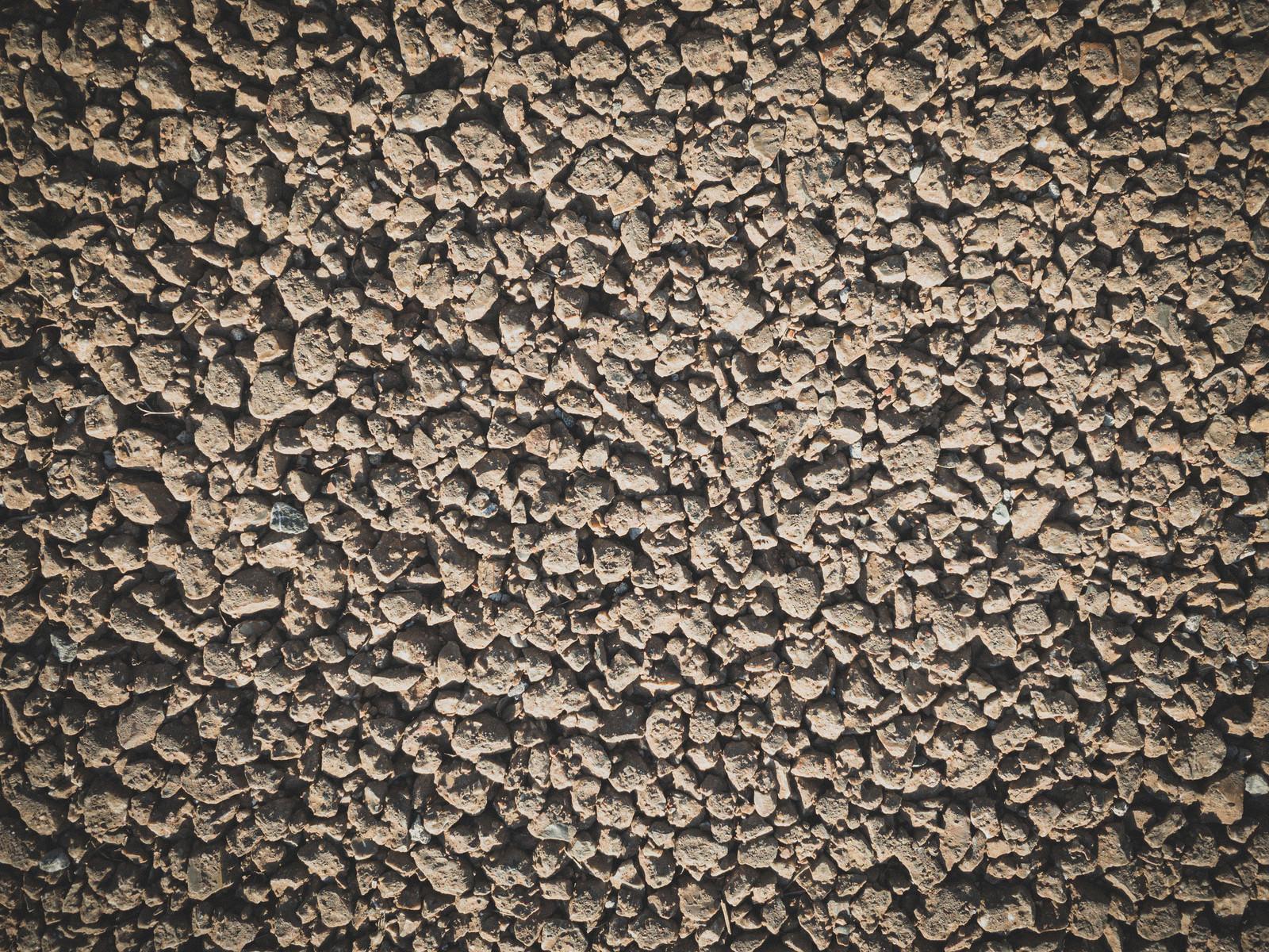 「水捌けが良い舗装材(テクスチャ)」の写真