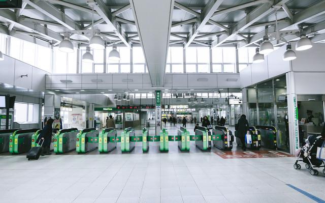 JR大崎駅前改札の写真