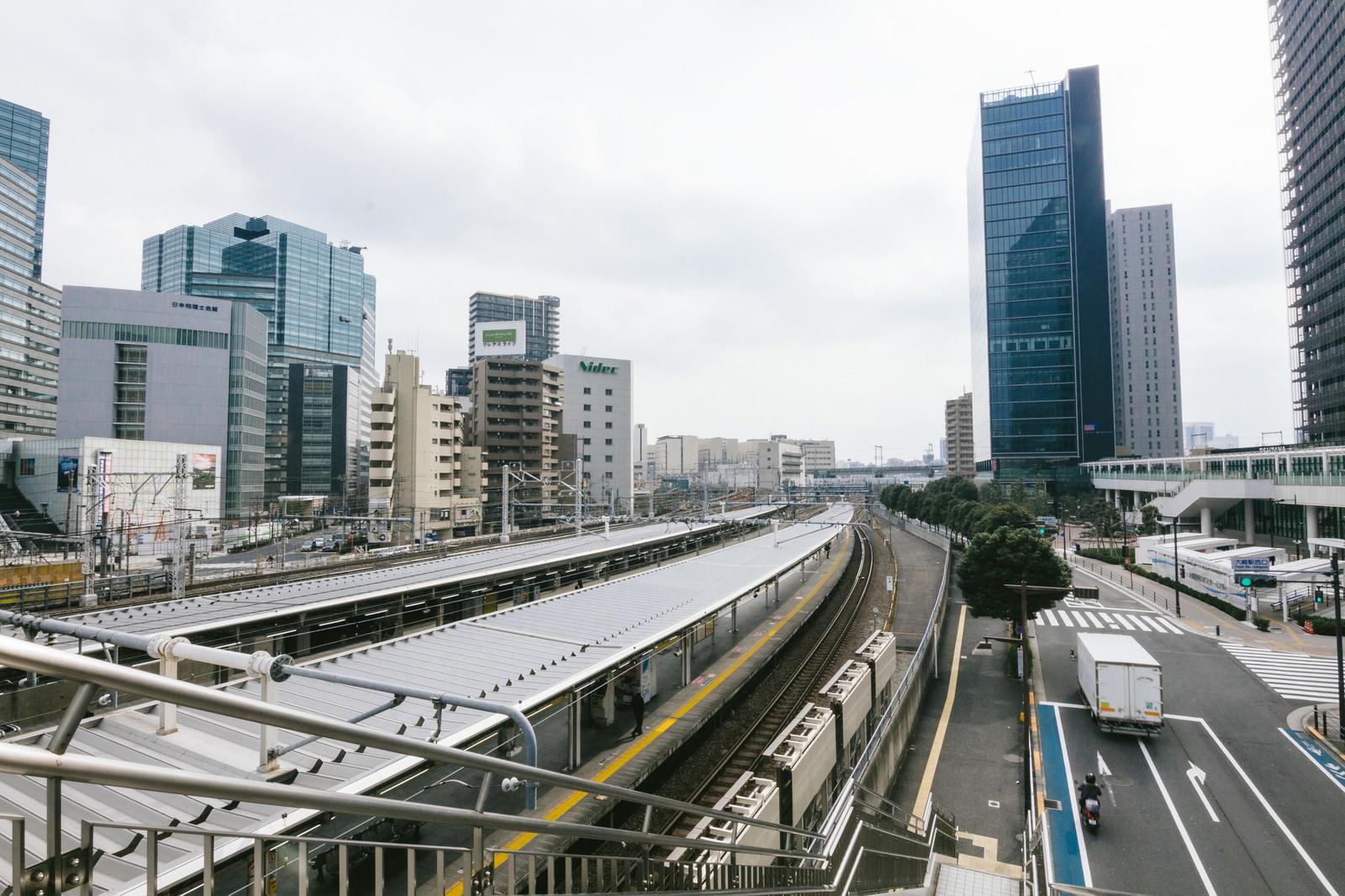 「大崎駅周辺の様子」の写真