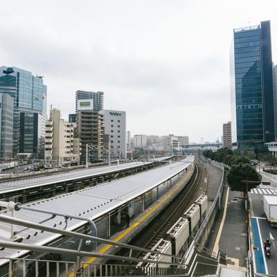 「大崎駅周辺の様子」の写真素材