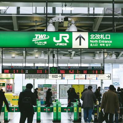 JR大崎駅北改札口の写真