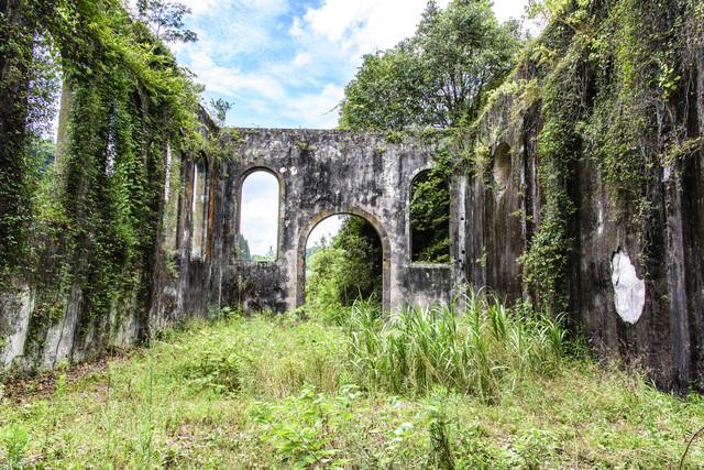 沈堕発電所(廃墟)の写真