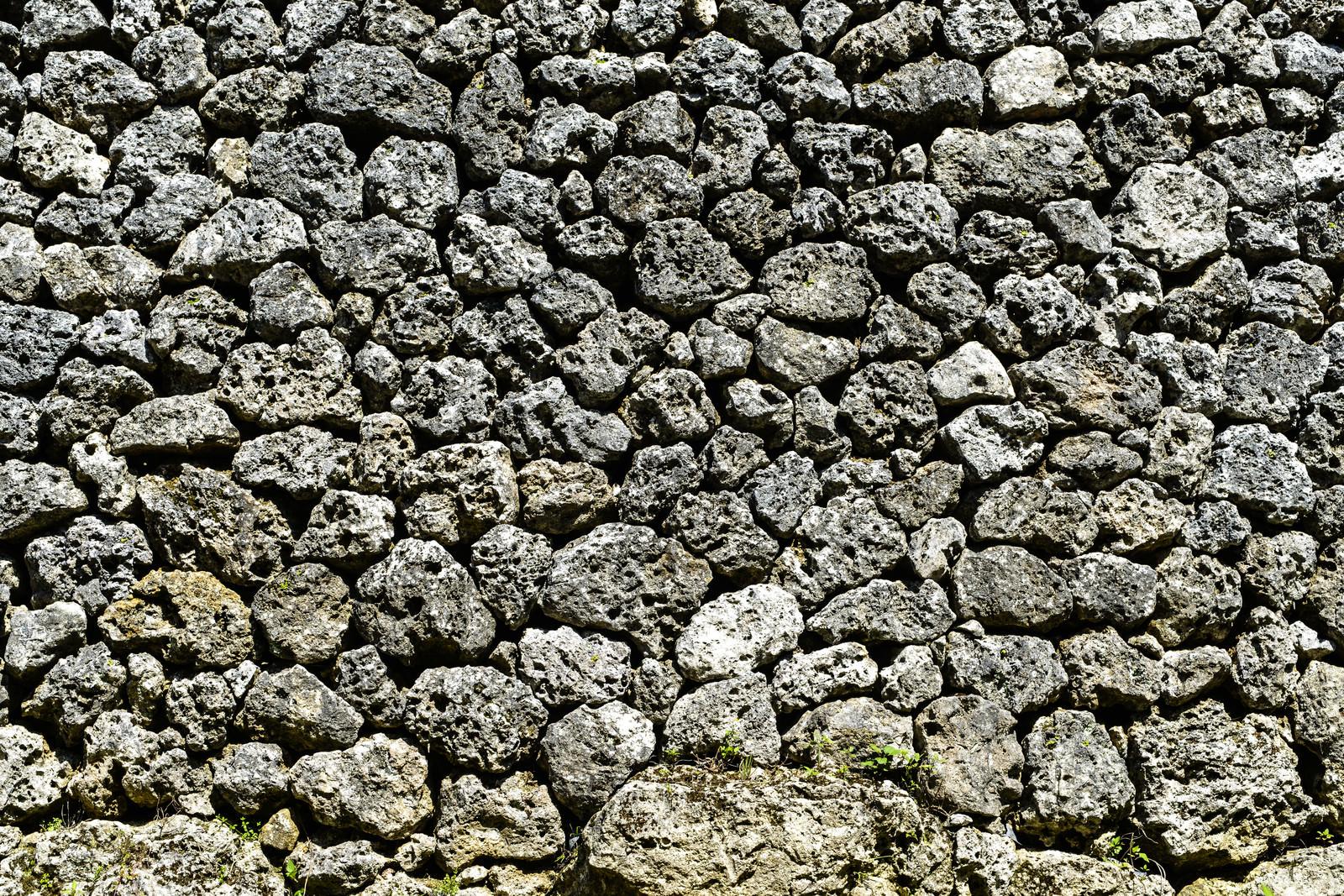 「沖縄の石垣」の写真
