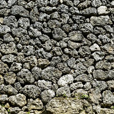 「沖縄の石垣」の写真素材