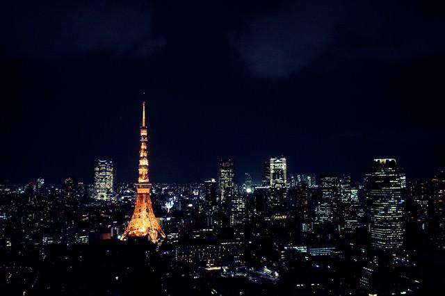 夜の東京(東京タワー)の写真