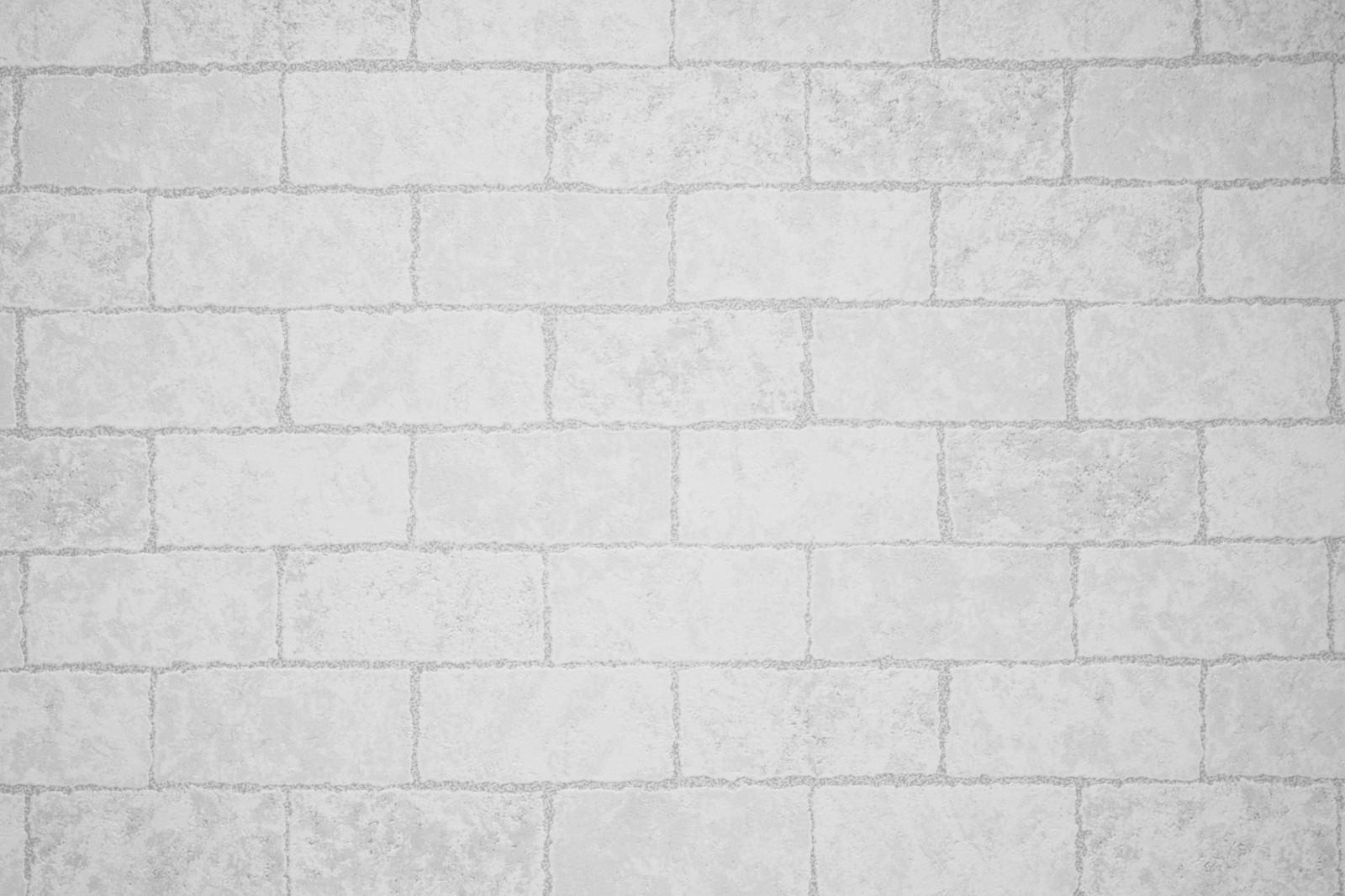 「タイル調の壁紙クロス」の写真