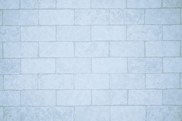 白いタイル柄のクロス(テクスチャ)の写真