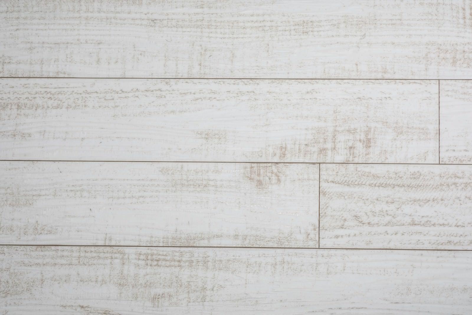 「白い木目壁(テクスチャ)」の写真