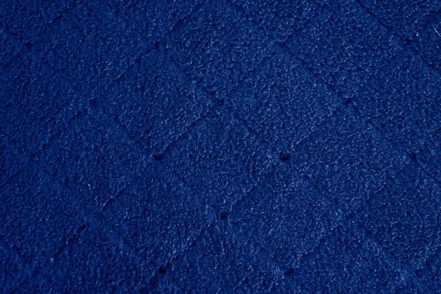 吹付けタイル・ブルーの写真