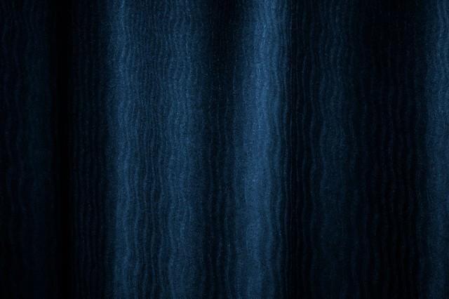 冷たい波模様(テクスチャ)の写真
