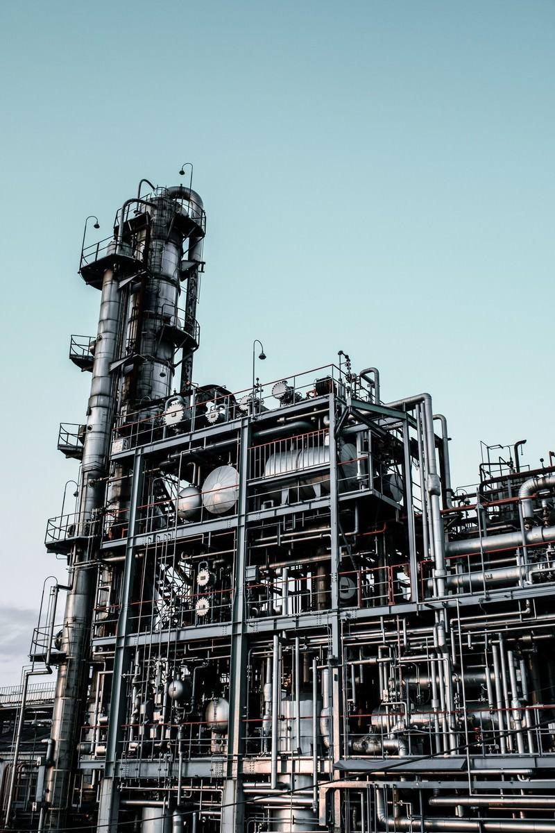 「無骨な工場」の写真