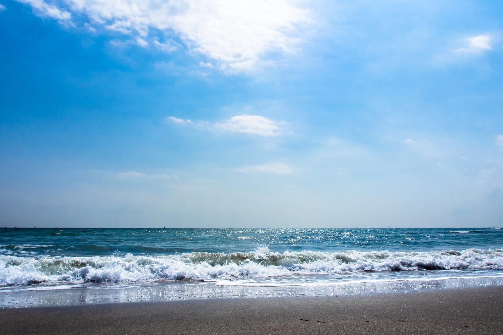「波打ち際」の写真