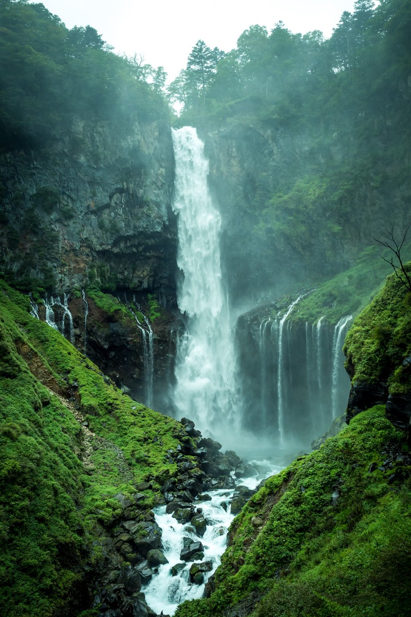 「華厳の滝」の写真