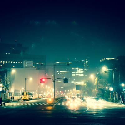 「夜の日比谷」の写真素材