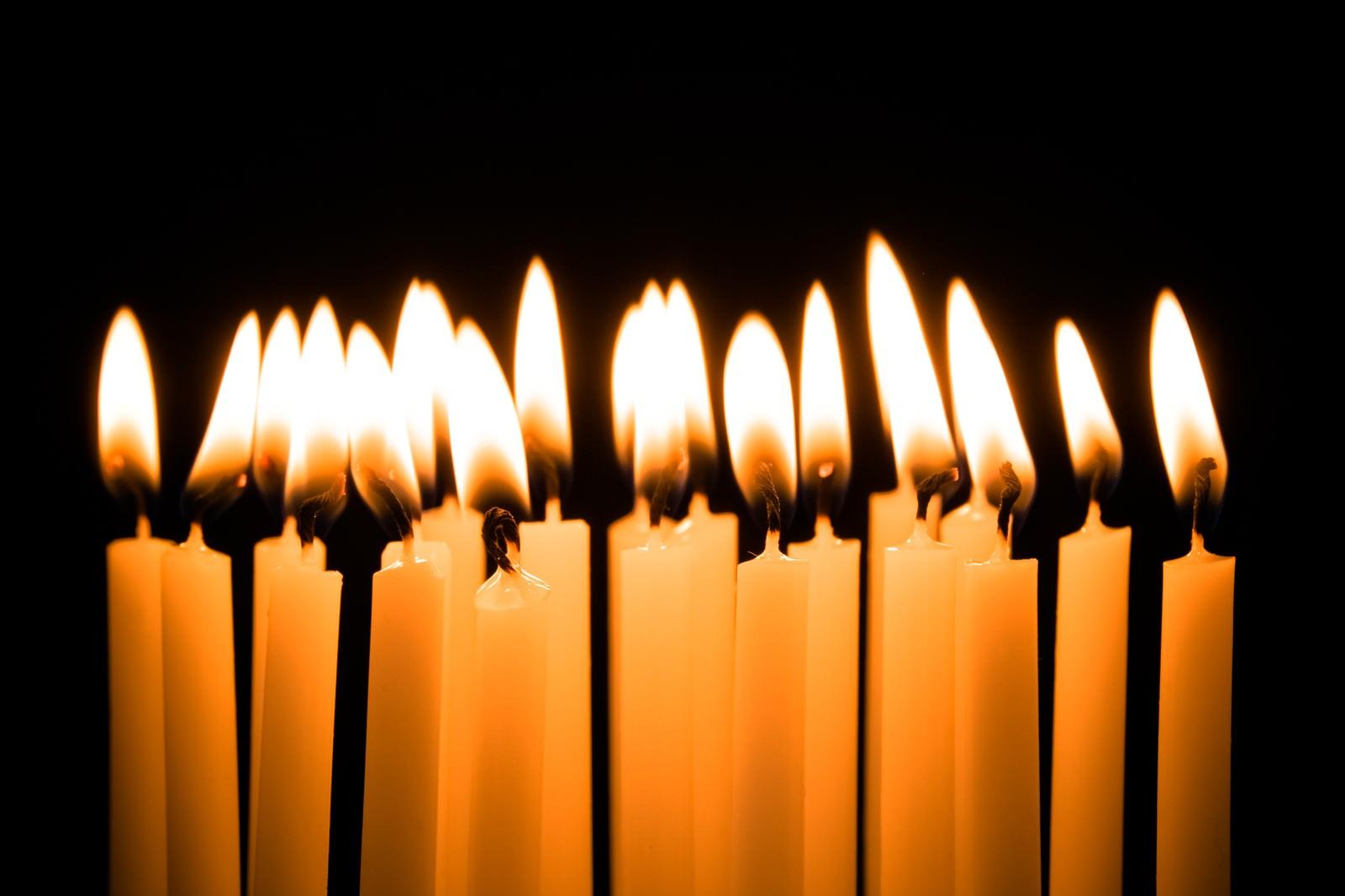 「二十歳の誕生日(ろうそく)」の写真
