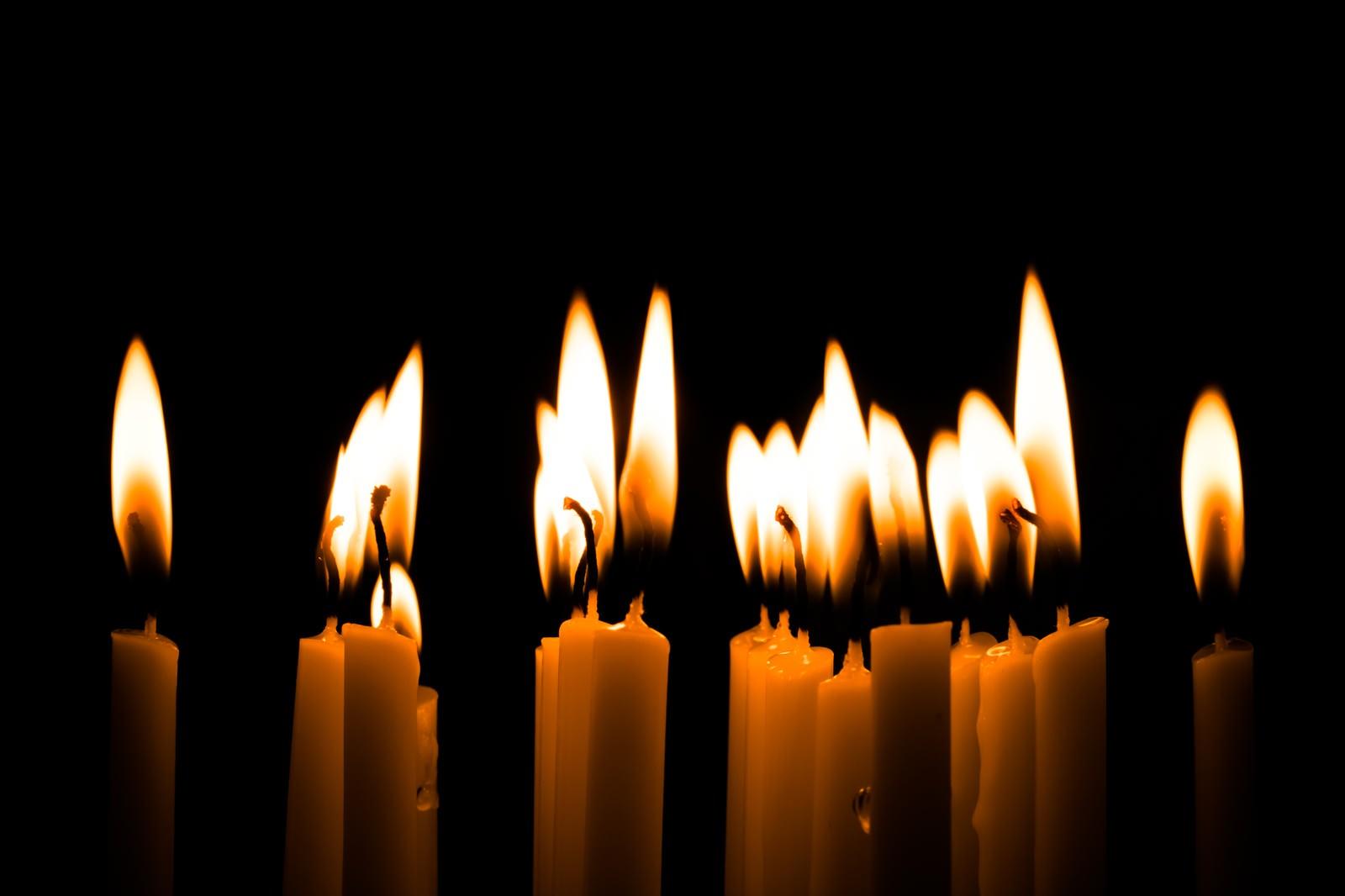 「和蝋燭(キャンドル)ナイト」の写真