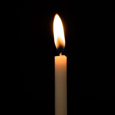 和ろうそくの火の写真