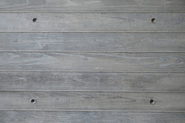 木の板の壁の写真