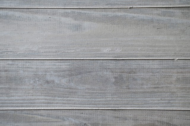 木の塀の写真