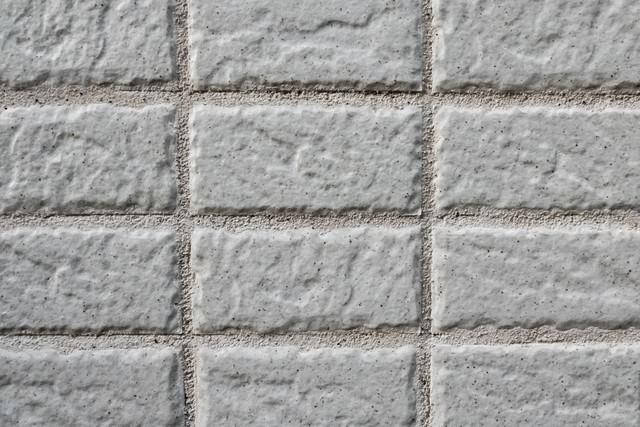 新築の壁(タイル)の写真