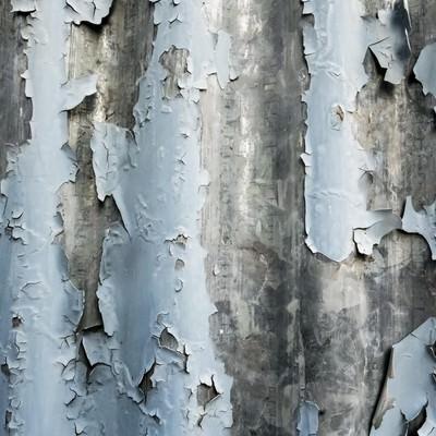 「ボロボロのトタン壁(テクスチャー)」の写真素材