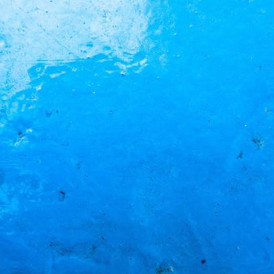 青い塗装がされた壁(テクスチャ)の写真