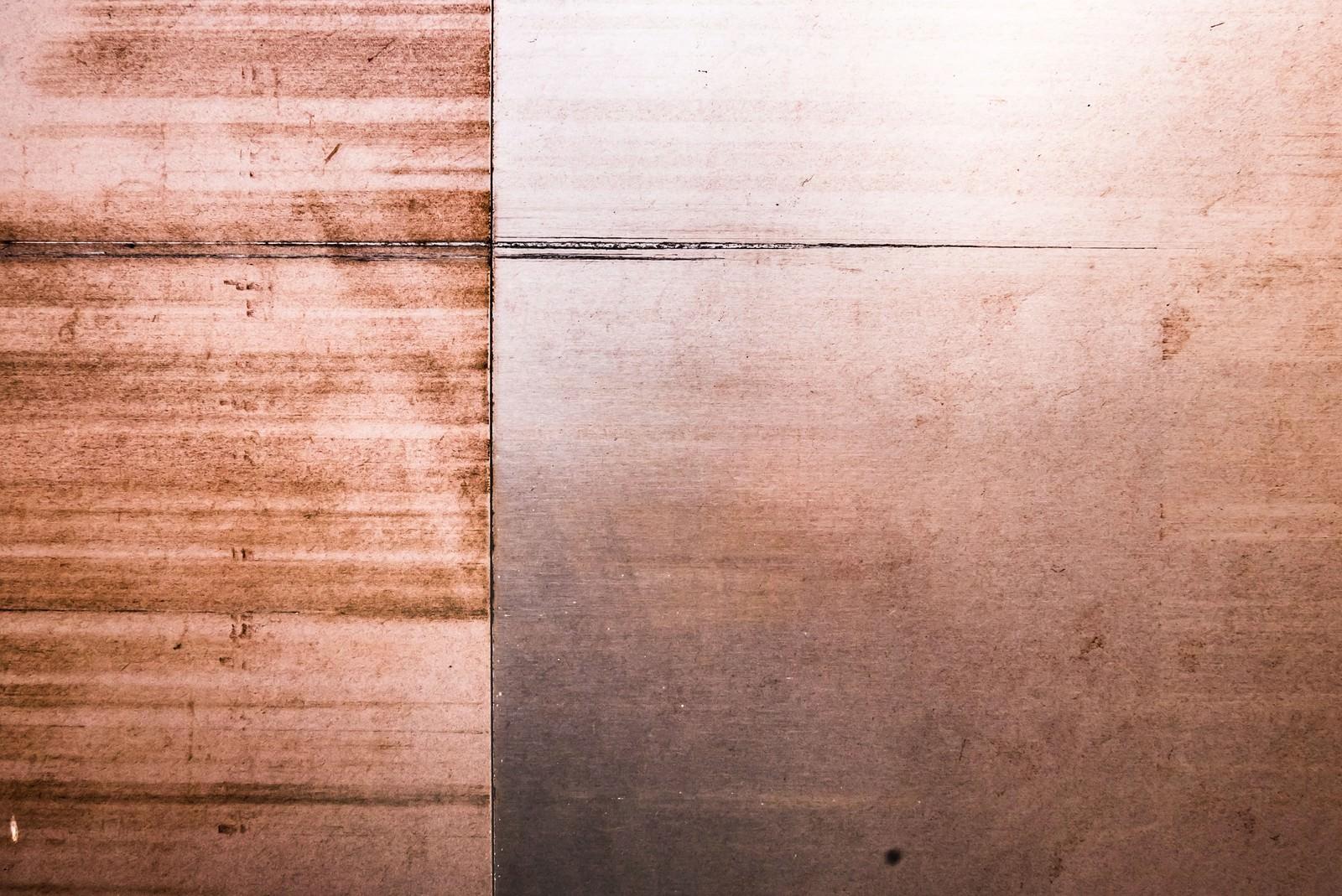 「木のパネル板(テクスチャー)」の写真