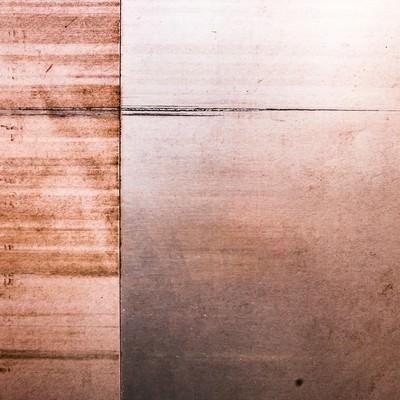 「木のパネル板(テクスチャー)」の写真素材
