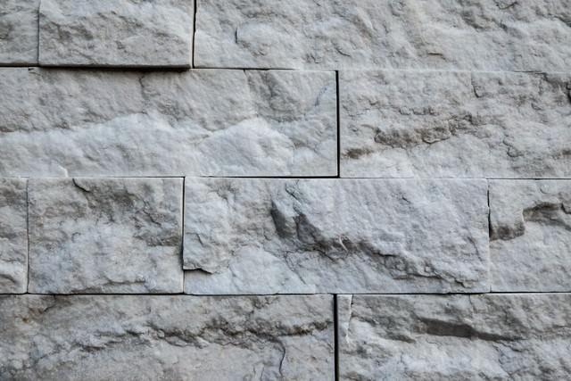 岩の外壁タイル(テクスチャ)の写真