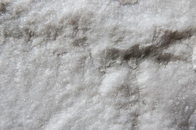 ざらついた結晶の写真