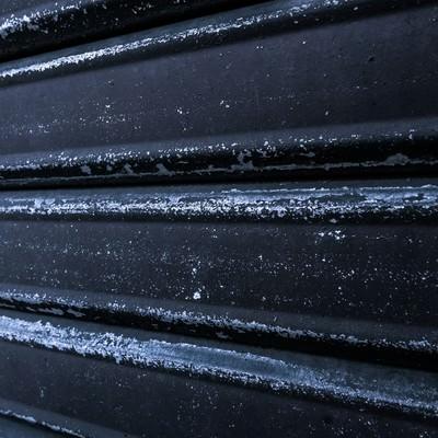 黒いシャッターのフリー素材