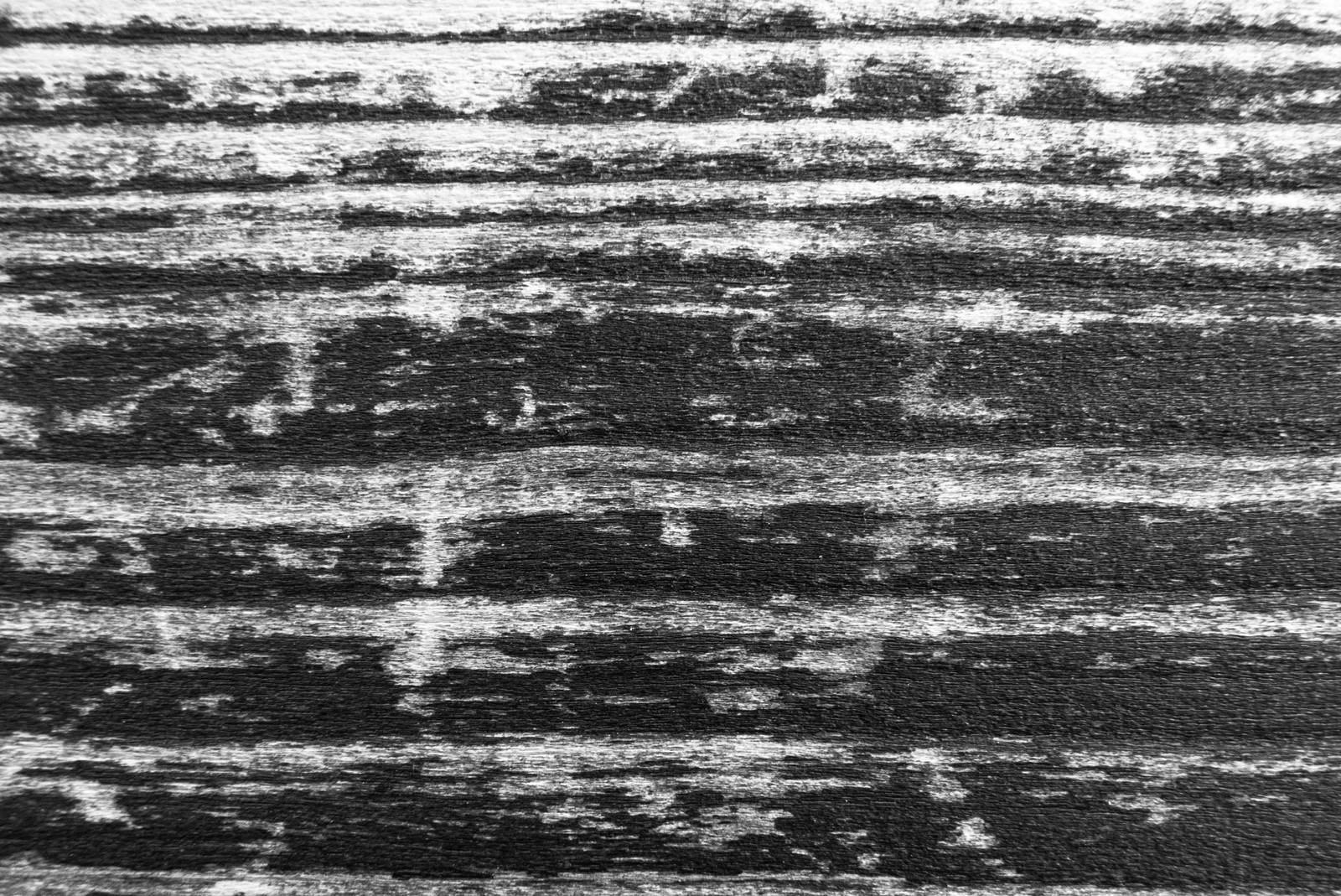 「木の板(モノクロ)」の写真