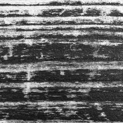 木の板(モノクロ)の写真