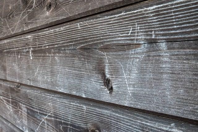 木造の壁の写真