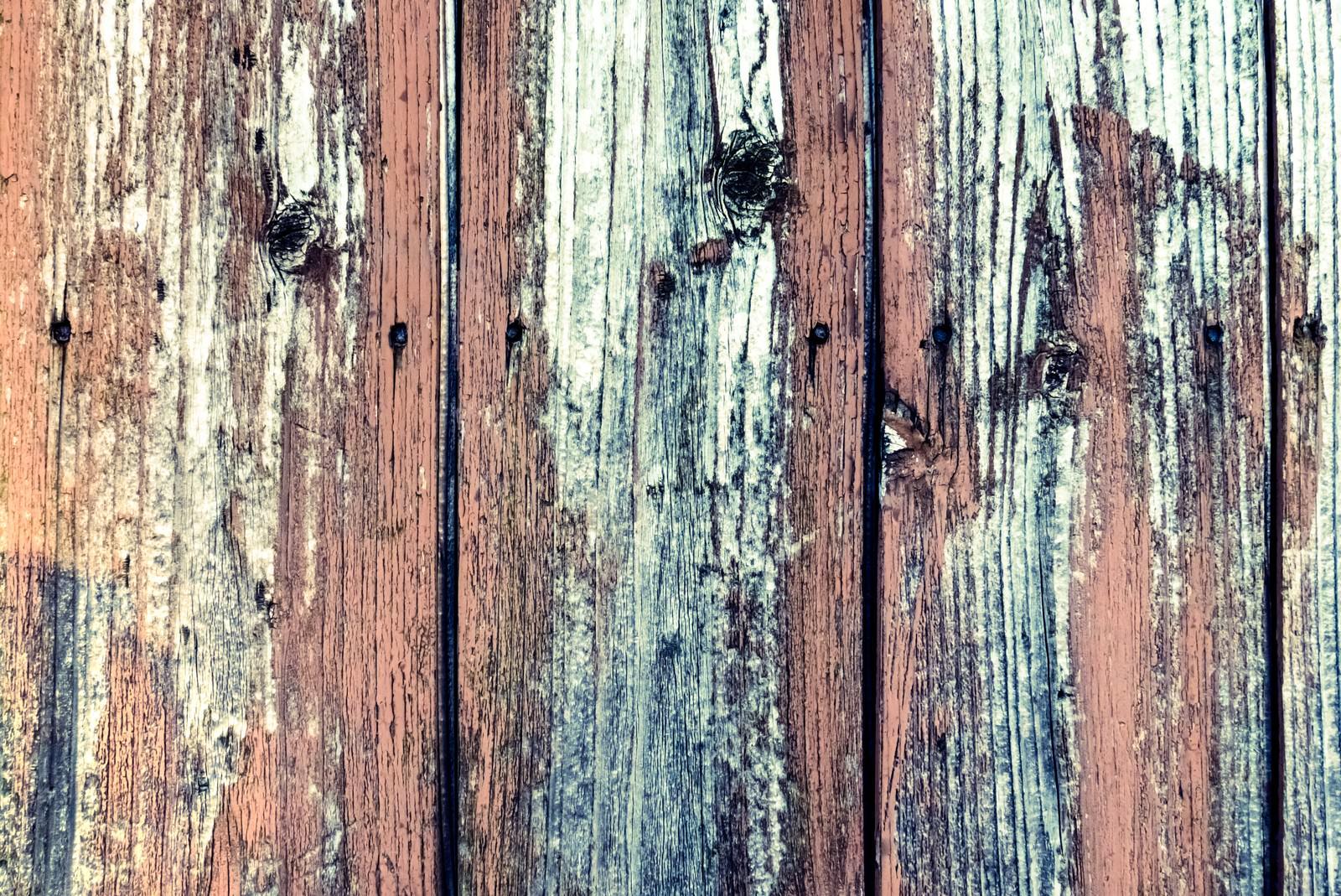 「ボロボロの木の柵」の写真