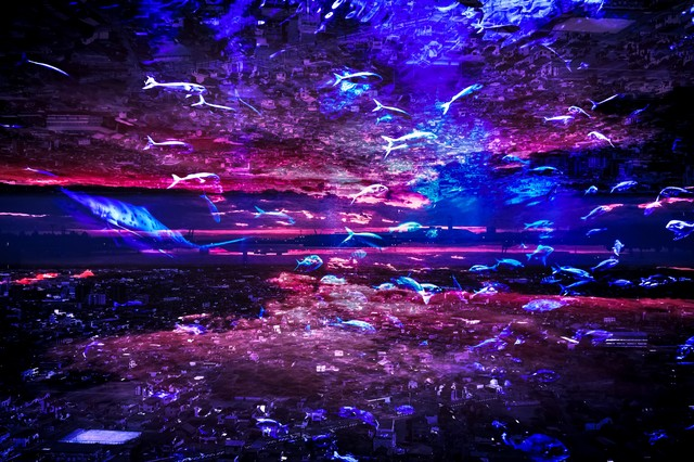 パノラマアクアリウム(フォトモンタージュ)の写真