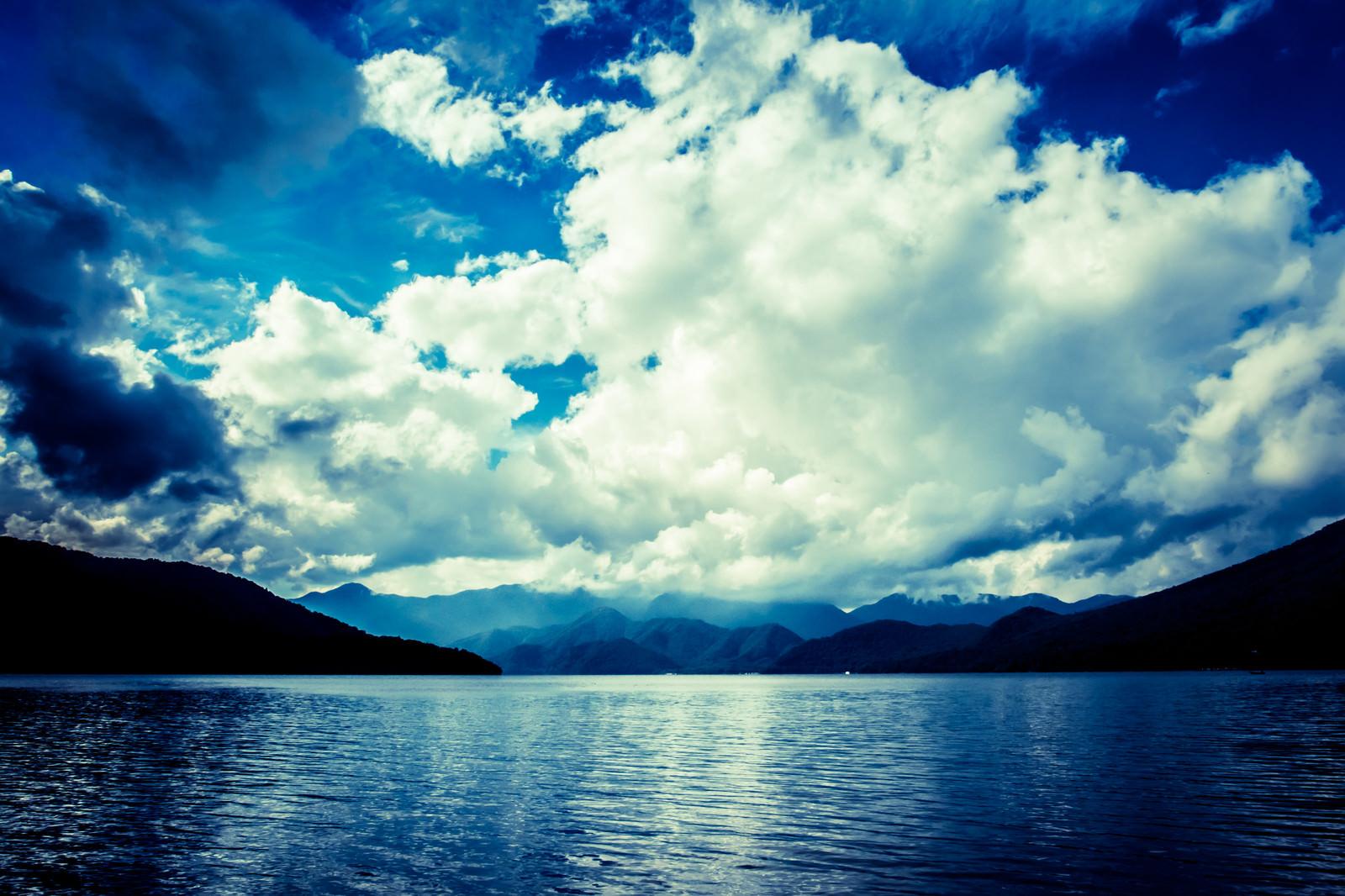 「中禅寺湖」の写真