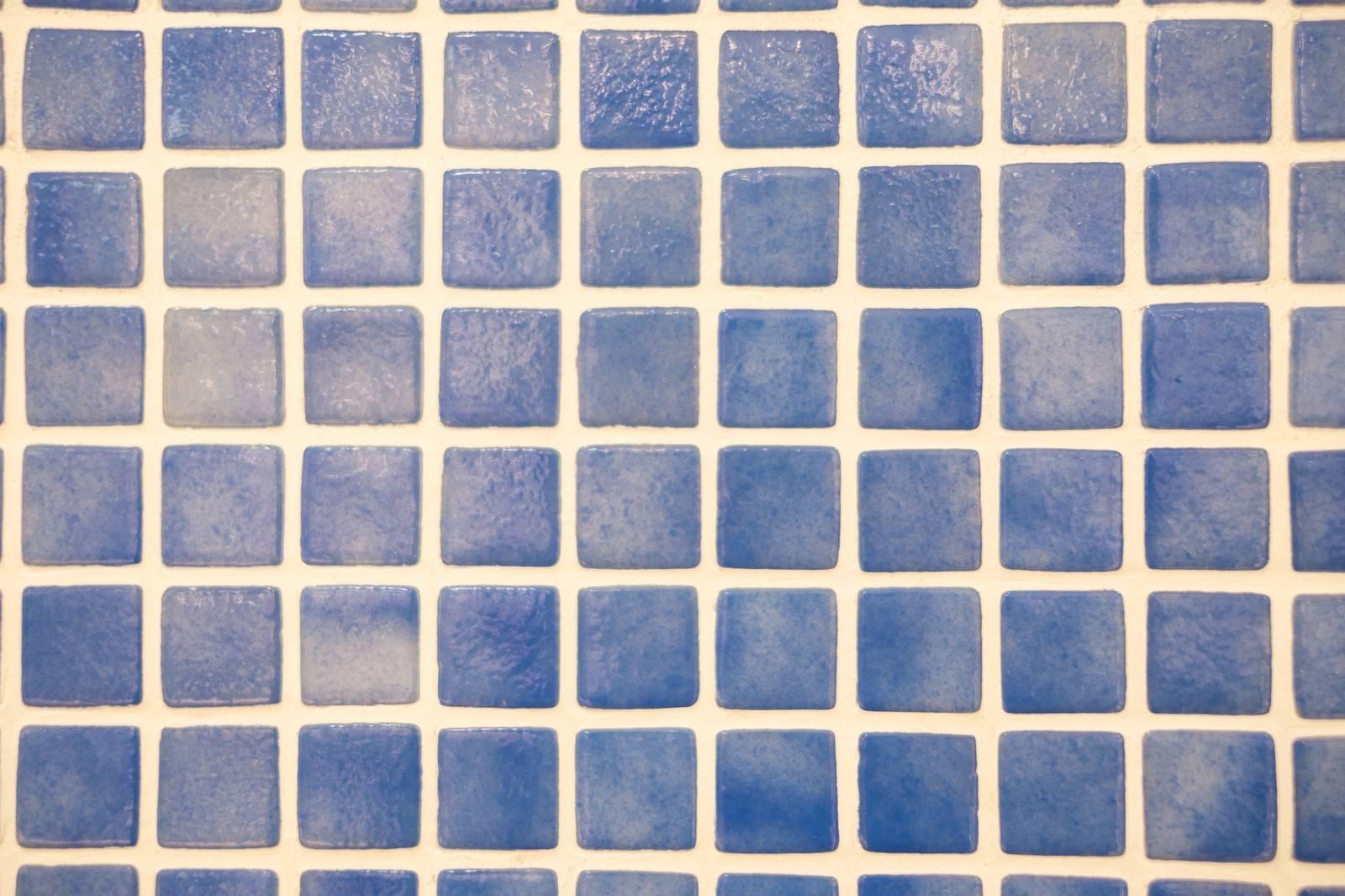 「お風呂場のタイル(テクスチャー)」の写真