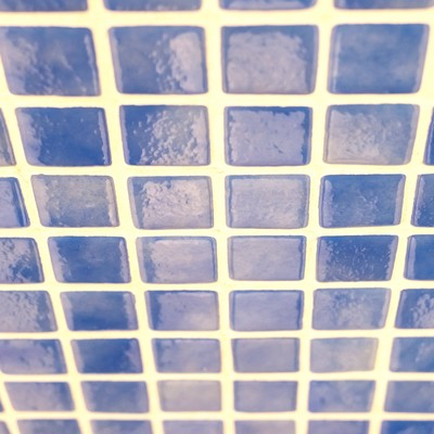 「昔懐かしい浴室のタイル」の写真素材